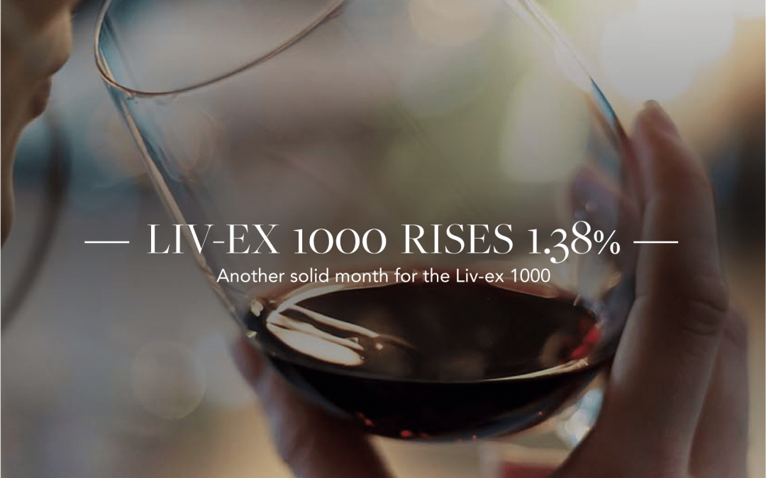 Liv-ex 1000 rises 1.38% in May